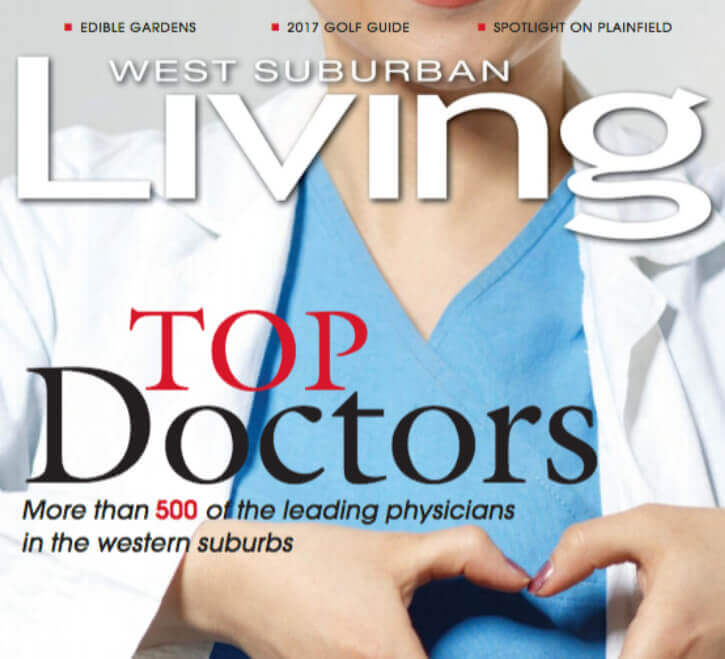 2017 & 2018 Top Doctor in Illinois is Dr. Steven Louis