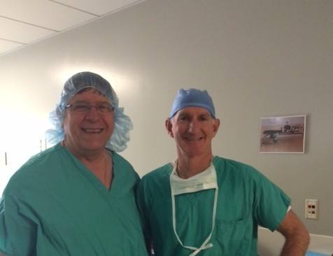 Dr. Louis Provides Important Technical Training to Surgeon based in Monroe, Michigan