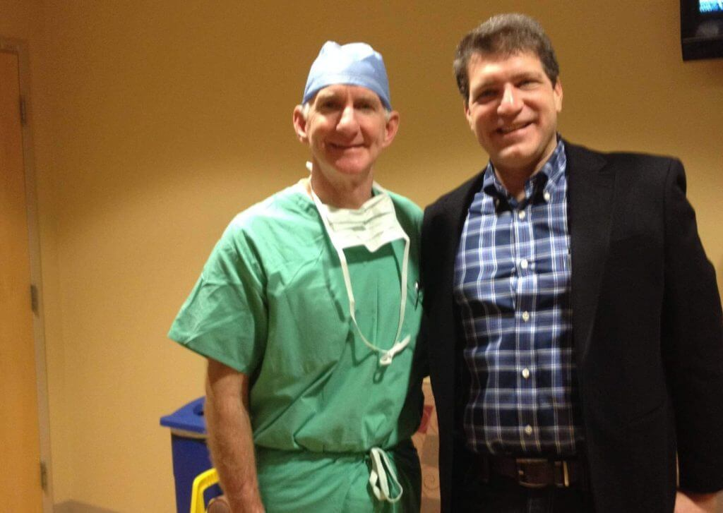 Visiting Surgeon Learns New Direct Anterior Approach