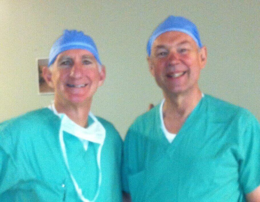 California Orthopaedic Surgeon Learns Technique from Dr. Steven S. Louis