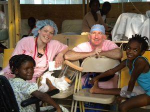 Local surgeon tells of volunteering in Haiti