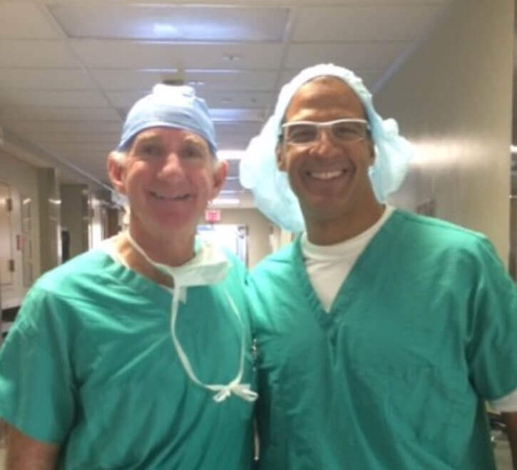 Dr. Louis Provides Clinical Training to Dr. Judson Wood, Jr.