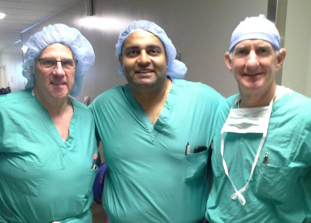 Team of Physicians from Merrillville Indiana Learn DAH Technique from Dr. Steven Louis