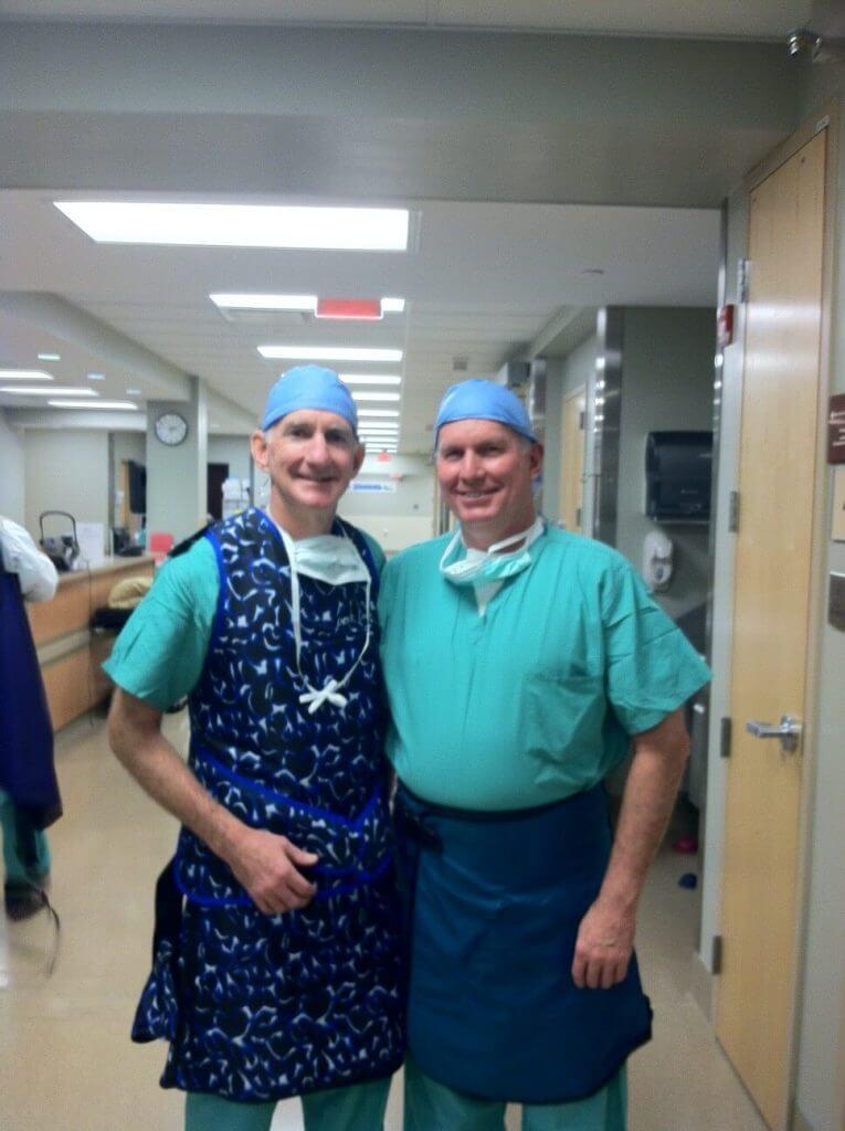 Grand Rapids, MI Surgeon Learns Valuable Technique from Dr. Steven S. Louis