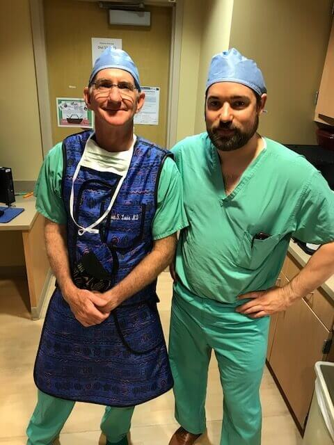 Oak Park Surgeon Trains To Learn Anterior Approach With Dr. Steven Louis