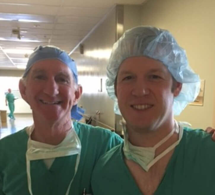 Orthopedic Surgeon from Muskegon MI Learns Valuable Technique from Dr. Louis